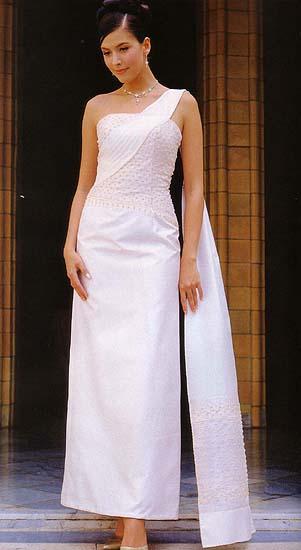Thai-Style Evening Dress (Тайском стиле Вечернее платье)